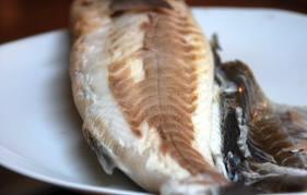 Traducción en inglés de lubina a la sal. Foto del blog cocinar es amar